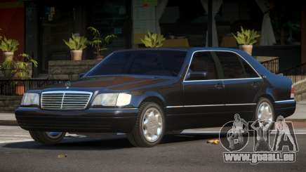 Mercedes Benz S600 LS pour GTA 4