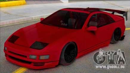 Nissan 300ZX Black Spoiler pour GTA San Andreas