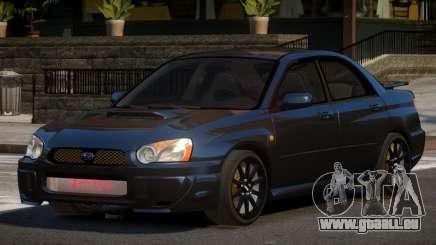 Subaru Impreza WRX BS pour GTA 4