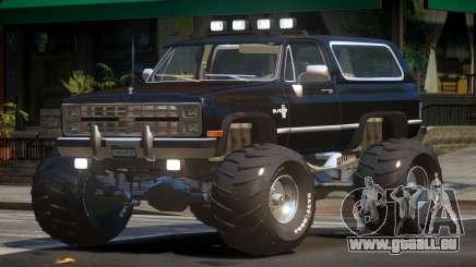 Chevrolet Blazer Custom pour GTA 4