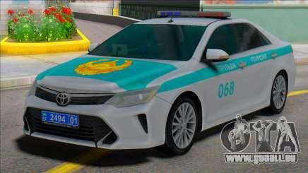 Toyota Camry 2015 Kazakhstan Police pour GTA San Andreas