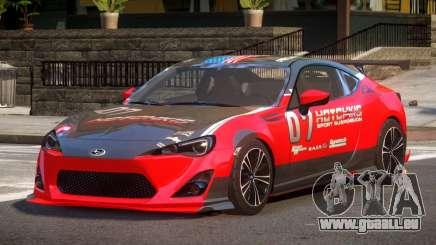 Subaru BRZ GT Sport PJ1 pour GTA 4
