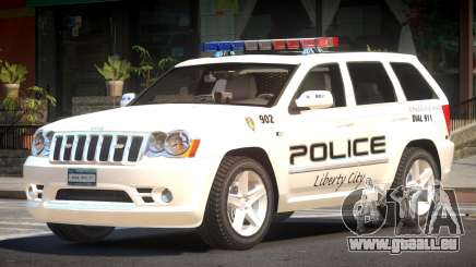 Jeep Grand Cherokee Police V1.0 für GTA 4