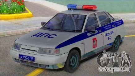 Vaz 2110 Police DPS 2003 pour GTA San Andreas