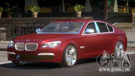 2014 BMW 750i F01 pour GTA 4