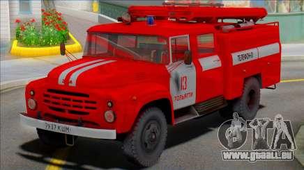 Le camion-citerne feu de l'AC-40(130)-63B pour GTA San Andreas