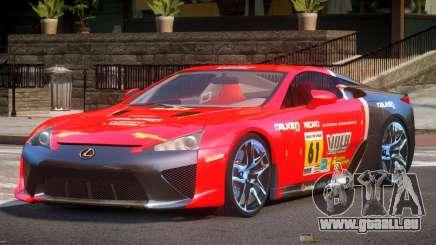 Lexus LFA Nurburgring Edition PJ6 für GTA 4