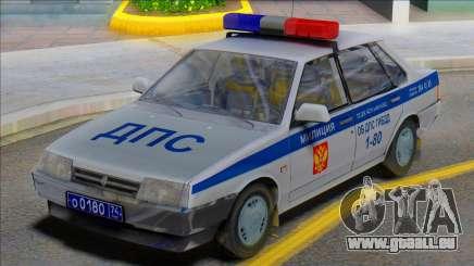 Vaz 21099 DPS Police pour GTA San Andreas