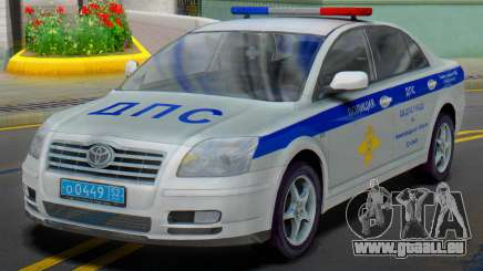 Toyota Avensis SUR la police de la circulation pour GTA San Andreas