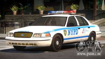 Ford Crown Victoria LS Police für GTA 4