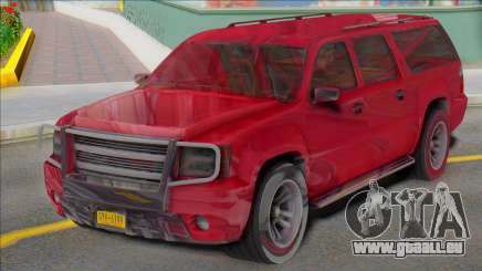 2007 Chevrolet Suburban Civillian Granger style pour GTA San Andreas