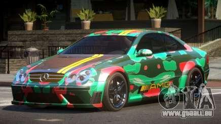 Mercedes Benz CLK63 SR PJ5 pour GTA 4