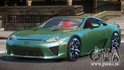 Lexus LFA Nurburgring Edition für GTA 4