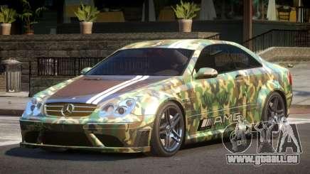 Mercedes Benz CLK63 SR PJ6 pour GTA 4