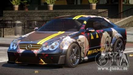 Mercedes Benz CLK63 SR PJ3 pour GTA 4
