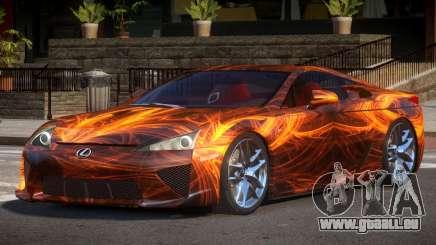 Lexus LFA R-Tuned PJ1 für GTA 4