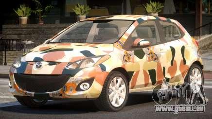 Mazda 2 RS PJ6 pour GTA 4