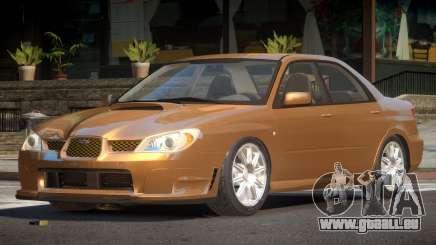 Subaru Impreza GS pour GTA 4