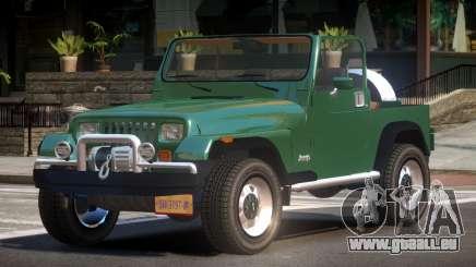 Jeep Wrangler TR pour GTA 4