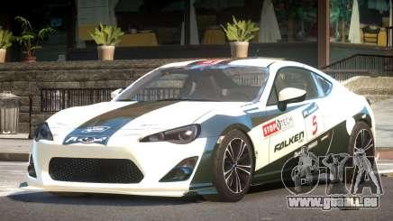 Subaru BRZ GT Sport PJ6 pour GTA 4