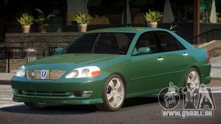 2002 Toyota Mark II 2.0 Grande pour GTA 4