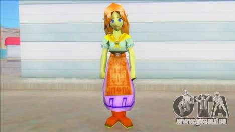 Malon - Legend of Zelda Ocarina of Time pour GTA San Andreas