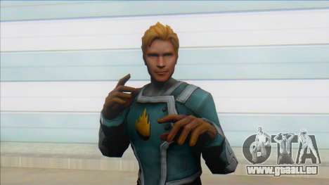 Starlord Mff Unmasked pour GTA San Andreas