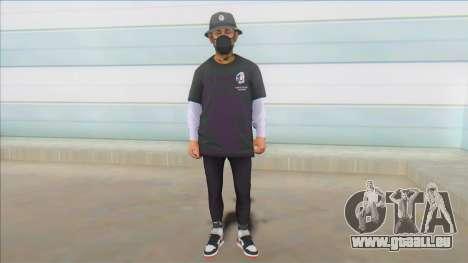 Andrews Skin pour GTA San Andreas