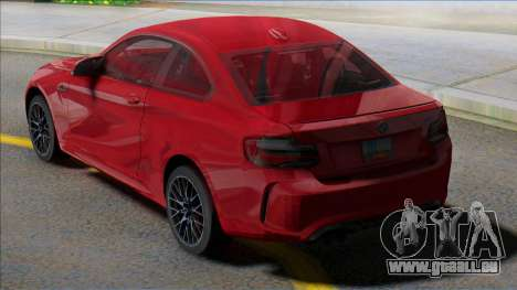 BMW M2 Coupe NEW pour GTA San Andreas