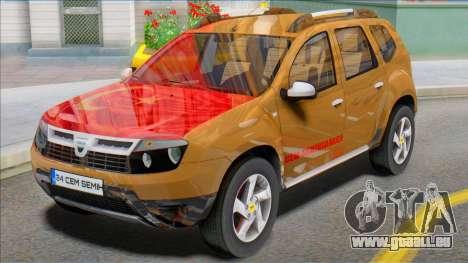Dacia Duster 2014 Modu Türkiye pour GTA San Andreas