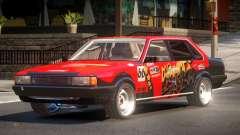 1985 Audi 80 B2 PJ4 für GTA 4