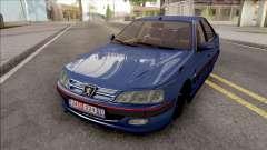 Peugeot Pars Blue für GTA San Andreas