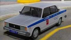 Vaz 2105 PPP Polizei 2001 für GTA San Andreas