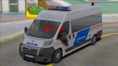 Peugeot Boxer Ambulance pour GTA San Andreas