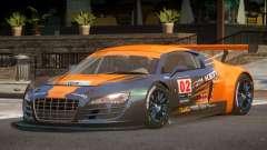 2010 Audi R8 LMS PJ9 pour GTA 4