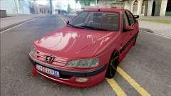 Peugeot Pars Red für GTA San Andreas