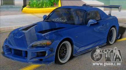 HONDA S2000 Blue with Spoiler pour GTA San Andreas