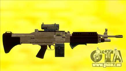 GTA V Combat MG Army All Attachments Small Mag pour GTA San Andreas