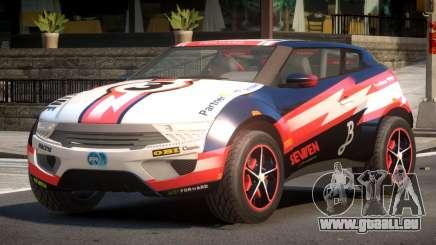Lagoon Car from Trackmania 2 PJ2 pour GTA 4
