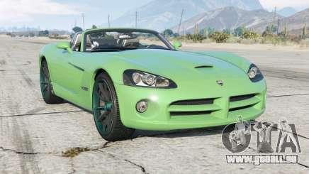 Dodge Viper SRT-10 Roadster (ZB I) 2005 pour GTA 5