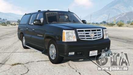 Cadillac Escalade ESV (GMT800) Unmarked [ELS] pour GTA 5