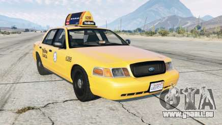 Ford Crown Victoria Taxi pour GTA 5