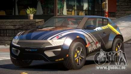 Lagoon Car from Trackmania 2 PJ3 pour GTA 4