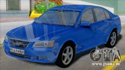 Hyundai Sonata 2008 Iran Plates pour GTA San Andreas
