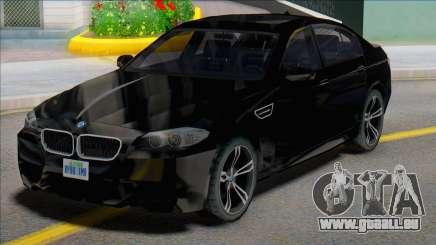 2012 BMW M5 (F10) SA Style für GTA San Andreas
