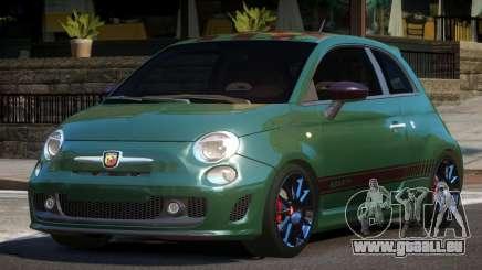 Fiat 500 Abarth HK für GTA 4