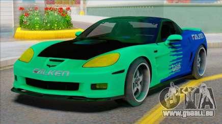 Chevrolet Corvette C6 FALKEN für GTA San Andreas