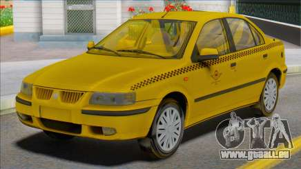 Samand Taxi Car für GTA San Andreas
