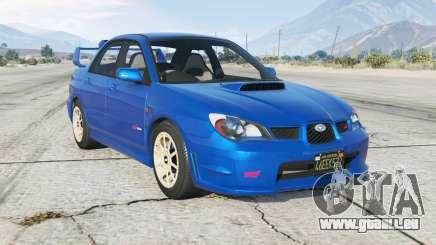 Subaru Impreza WRX STi (GDB) Ձ006 pour GTA 5