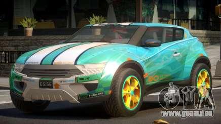 Lagoon Car from Trackmania 2 PJ11 pour GTA 4